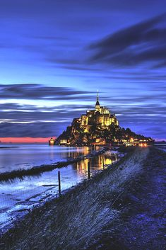 Mont St Michel by jean-yves Provost Mont Saint Michel France, Le Mont St Michel, Beautiful Castles, Beautiful Places, Beautiful Pictures, Places Around The World, Around The Worlds, Fantasy Castle, St Michael