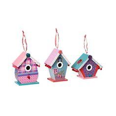 vogelhuisje maken van karton, bekleden met mooi papier