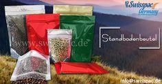 #Standbodenbeutel - http://www.swisspac.de/standbodenbeutel/ Diese Verpackungsoption ist #sicher, #nachhaltig, #flexibel und #kostengünstig.