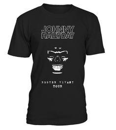 Soutenez Notre Idole Johnny Hallyday en Portant Son T-Shirt