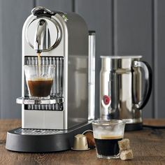 Sitting in our kitchen - I feel a little more Italian with every delicious sip. For all you time-crunched espresso lovers out there - this is a must