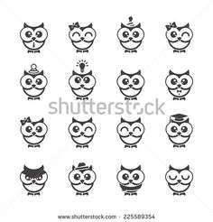 simple owl drawing google search animals birds dogs simple owl