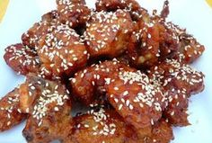 Honey Garlic Chicken Wings Recipe - Becky's Recipes for Home Honey Garlic Chicken Wings, Honey Sesame Chicken, Garlic Wings, Cooking Chinese Food, Asian Cooking, Chicken Wing Recipes, Sweet Chili, Mets, Ketchup