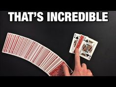 This is a great no setup card trick that is easy to perform. I definitely recommend you give this one a try. If you're new to my channel, make sure to subscr. Easy Card Tricks, Magic Card Tricks, Cool Magic Tricks, Mathematical Card Tricks, Magic Tricks Illusions, Magic Tricks Revealed, Learn Magic, Sleight Of Hand, The Fool