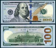 New 100 Dollar Bill 2019 30 Best us currency images in 2019 | Federal reserve note, Legal