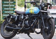 371 Best Royal Enfield Custom Stickers images in 2019