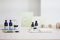 Mother and Baby Organic skincare range.