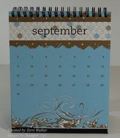 Customizable Calendar, Homemade Organizers & Useful Items Made Cute