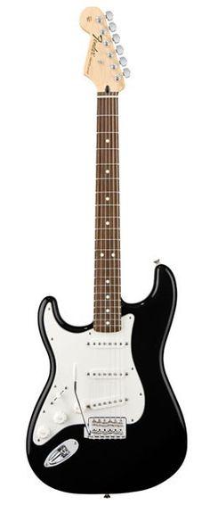 Fender Standard Strat Rw Blk Zurdos