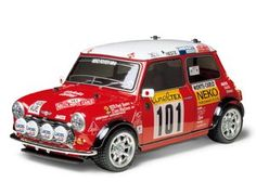 The Tamiya Mini Cooper '94 Monte Carlo in 1/10 scale on the M-05 chassis offers excellent racing performance for all rc radio controlled racing enthusiasts out there.