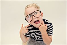 Seriously!!!!   Just being a goof in Grandpa's glasses. The cutest kid EVER! I love him, I love him, I love him!  By Roger Ruth Photography