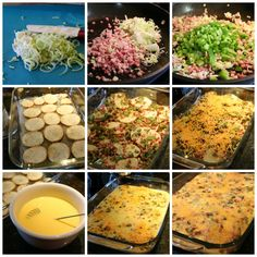 Hearty Breakfast Casserole - easy and simple steps to create this amazing breakfast casserole. www.ceceliasgoodstuff.com