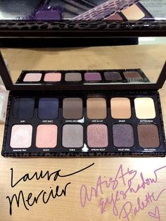Laura Mercier Artist's Eyeshadow Palette