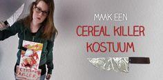 Maak je eigen cereal killer kostuum