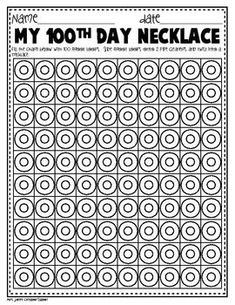 1000 images about kindergarten 100th day of school on for 100th day hat template