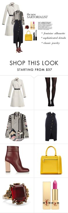 """""""London Calling"""" by cheetakat12 on Polyvore featuring Martin Grant, SPANX, Preen, Francesco Scognamiglio, Marni, Victoria Beckham, Alexander McQueen, Yves Saint Laurent, Givenchy and women's clothing"""