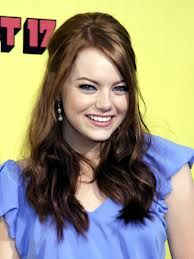 she looks like kim! emma stone who plays skeeter in the help :) Southern Belle Hair, Celebrity Crush, Celebrity Style, She Is Gorgeous, Famous Women, Famous People, Emma Stone, Celebs, Celebrities