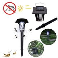 Home   LED Solar Powered Garden Anti-Mosquito Bugs Insect Lamps(1-Lighting Light/2-Mosquitoes Light)