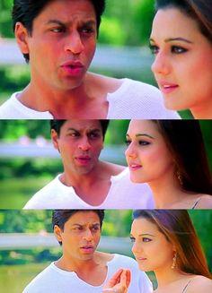 Preity & Srk in Kal ho na ho Vintage Bollywood, Indian Bollywood, Bollywood Stars, Bollywood Actress, Kal Ho Na Ho, Shahrukh Khan And Kajol, Srk Movies, Preity Zinta, Movies