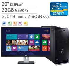 Costco: Dell XPS 8500 Desktop, Intel® Core™ i7-3770 3.4GHz, Blu-Ray, Windows 8 PRO