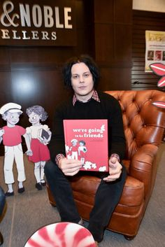 Musician / author Jack White attends the signing for his book 'We're Going to be Friends' at Barnes & Noble at The Grove on November 4, 2017 in Los Angeles, California.