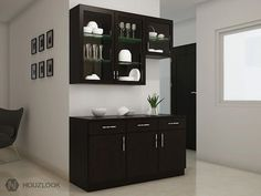Image result for crockery cabinet designs