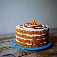 Laskominy od Maryny: Dýňový dort se smetanovým sýrem s pekanovými ořechy a karamelem