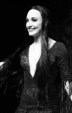 Morticia Addams broadway | Bibi Neuwirth on Broadway in The Addams Family musical, 2010)