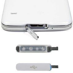 2017 nuovo pratico accessori del telefono spina presa di carica porta usb di ricambio della copertura della falda per samsung galaxy s5 spina della polvere ap8