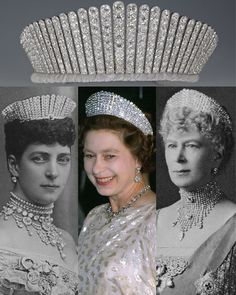 corona reales The Queen Alexandra Kokoshnik Tiara. In The Prince amp; Princess of Wales the future King Edward VII amp; Queen Alexandra were celebrating Royal Crown Jewels, Royal Crowns, Royal Tiaras, Royal Jewelry, Tiaras And Crowns, Prince And Princess, Princess Mary, Queen Elizabeth Jewels, Argent Antique