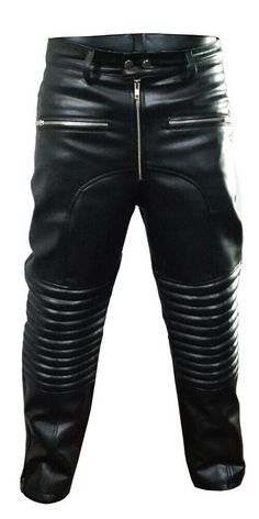 #Men #Motorcycle #Real #Black #Leather #Bikers #Jeans #Trousers #Pants Mens Leather Pants, Leather Pants Outfit, Leather Leggings, Biker Pants, Trouser Pants, Casual Fall Outfits, Men Casual, Next Clothes, Bikers