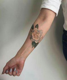 Rose tattoo #rose #tattoo #armtattoo