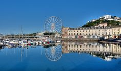 https://flic.kr/p/KTbHd2   Perfect blue sky reflections at Torquay Harbour
