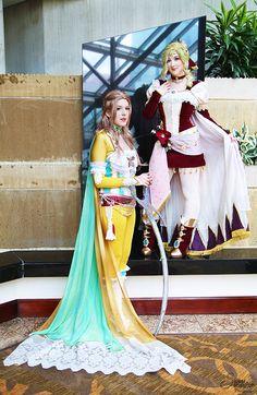 Terra Branford  and Celes Chere II by EnchantedCupcake.deviantart.com