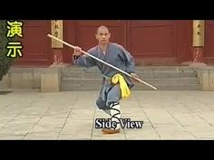 shaolin kung fu ghost Warrior staff