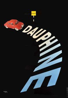 Dauphine Renault - 1957