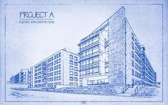 Transform a Photo into an Architect's BLUEPRINT Drawing   Photoshop Architectural Tutorials   ARCH-student.com