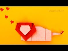 Origami Lion -Tutorial - YouTube
