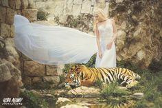 Beauty and the Beast  Photographer: Kobi Alony Model: Miri Domark MUA & Styling: Yana Zernitsky