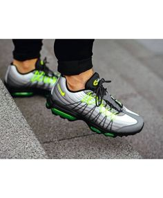 new style 3c054 773f2 Nike Air Max 95 Ultra Se Og Neon Trainers Sale Cheap Air Max 95, Air