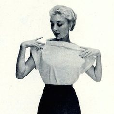 The Vintage Pattern Files: Free 1950's Sewing Pattern - Sewing Magic