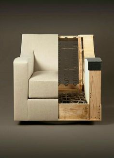 The Anatomy of a Lounge Chair - Holly Hunt Sofa Design, Design Furniture, Diy Furniture, Diy Sofa, American Home Furniture, Muebles Art Deco, Sofa Frame, Upholstered Furniture, Furniture Inspiration