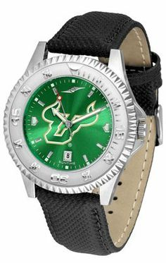 South Florida Bulls- University Of Competitor Anochrome- Poly/leather Band - Men's College Watches by Sports Memorabilia. $78.73. Makes a Great Gift!. South Florida Bulls- University Of Competitor Anochrome- Poly/leather Band