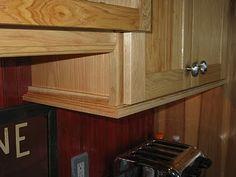 Under Cabinet Trim Moulding In 2019 Kitchen Cabinets