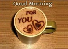 Latest Good morning love images for girlfriend ~ Good morning inages Coffee Latte Art, I Love Coffee, Coffee Cafe, My Coffee, Coffee Drinks, Coffee Shop, Cappuccino Art, Coffee Girl, Coffee Lovers