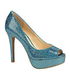 Gianni Bini Mandy Platform Pumps #Dillards; they come in silver too