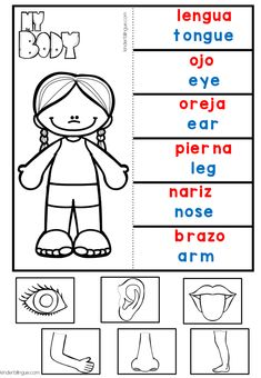 Free activities from Kinder Bilingüe