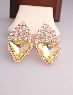 http://www.aliexpress.com/store/product/2014-new-fashion-classic-Korean-gold-plated-triangle-crystal-wedding-party-women-s-stud-earring-in/239061_1958823488.html Find More Stud Earrings Information about 2014 new fashion classic Korean gold plated triangle crystal wedding party women's stud earring in jewelry accessories Wholesale,High Quality Stud Earrings from Hawaii Arts Jewelry