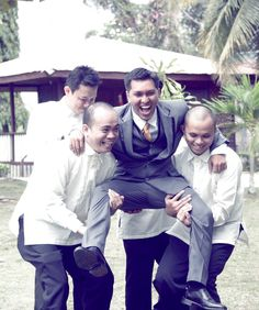 #Groom #Bestman #Groomsmen #Bayanihan #CoralandiaResortandRestaurant #PhotobyArnoldLaserBendoy #weddingphotographer