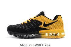 1a0de64a655 Nike Air Max Emergent 120 KPU Black Golden Men Sneakers